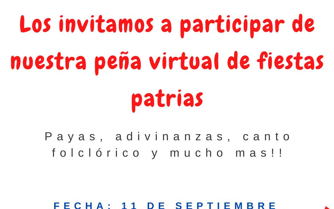 Gran Peña Virtual San Rafaelina